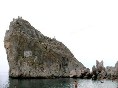Cliff Divo nad morzem