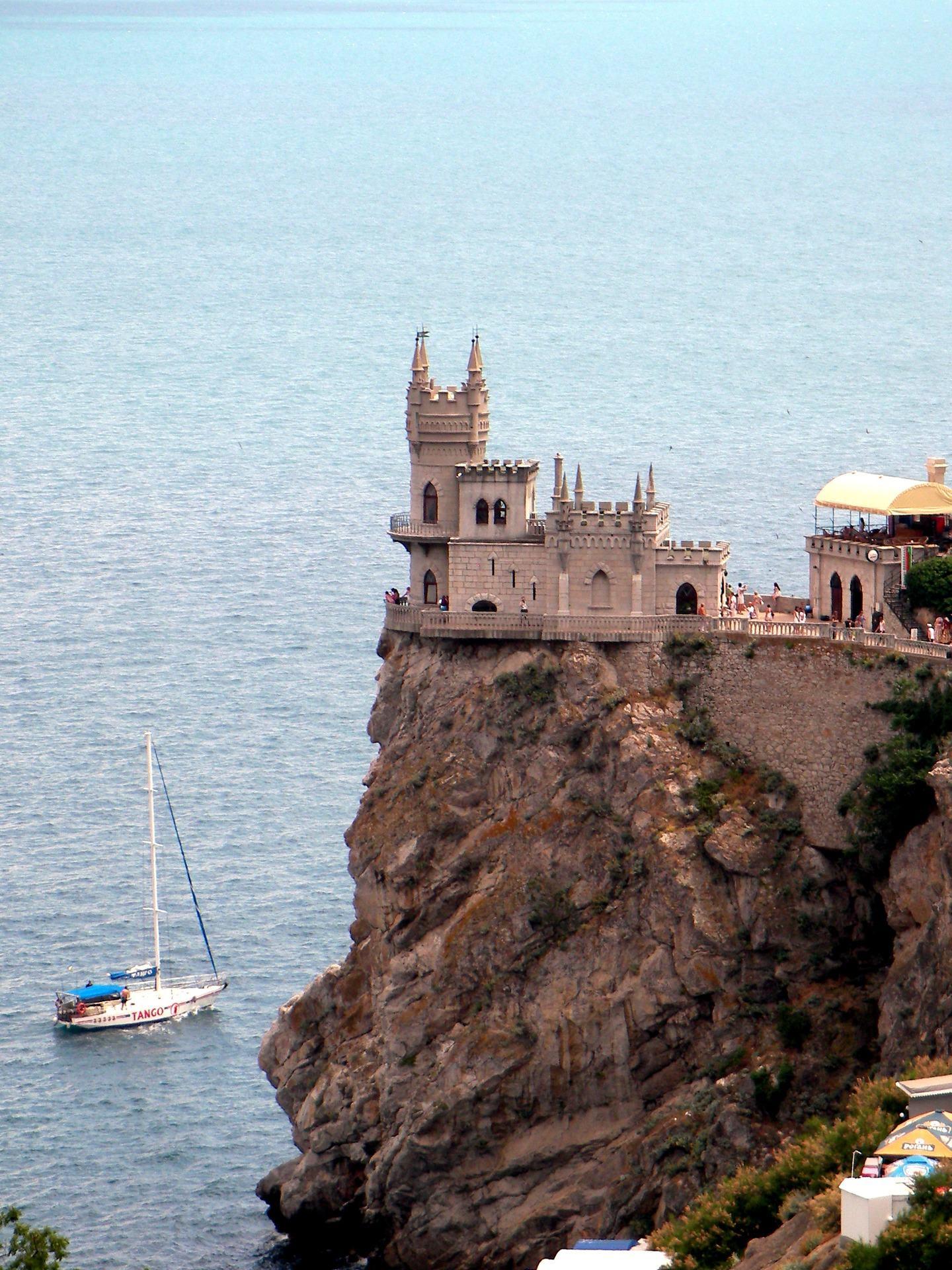 Haus auf der Klippe
