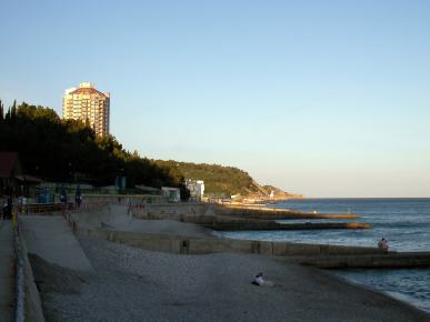 Krím strand