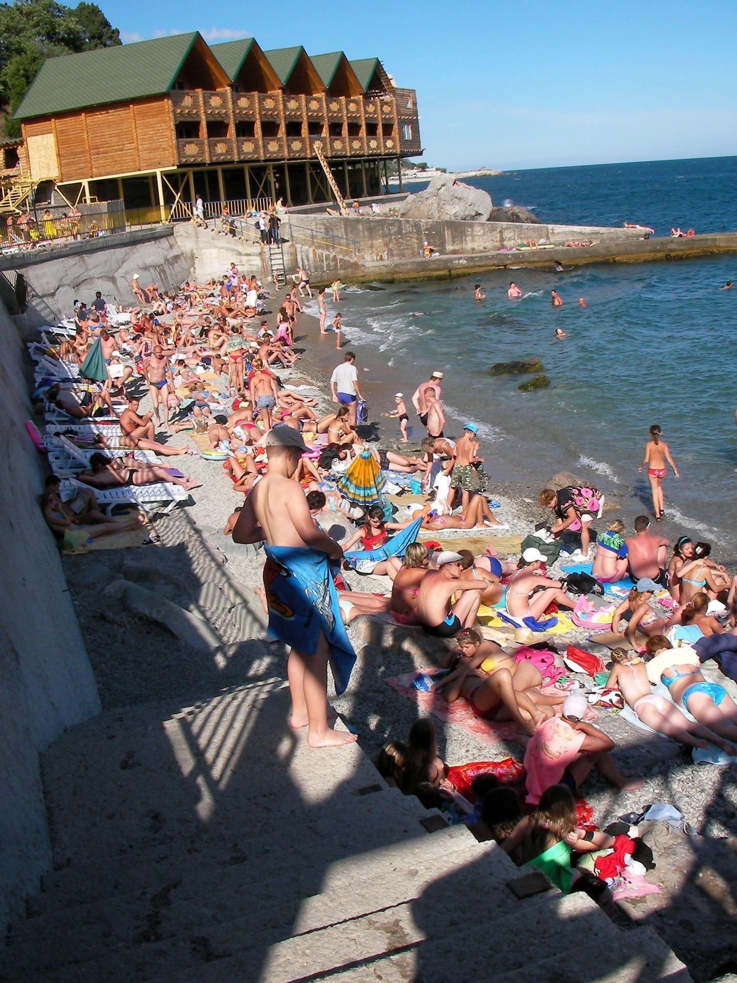 Crimea beach, Alupka