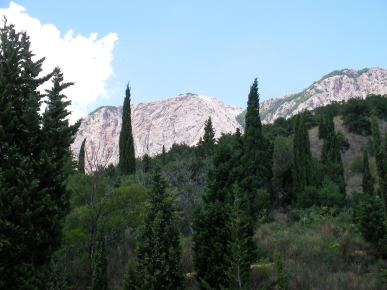 Mountain krajolik