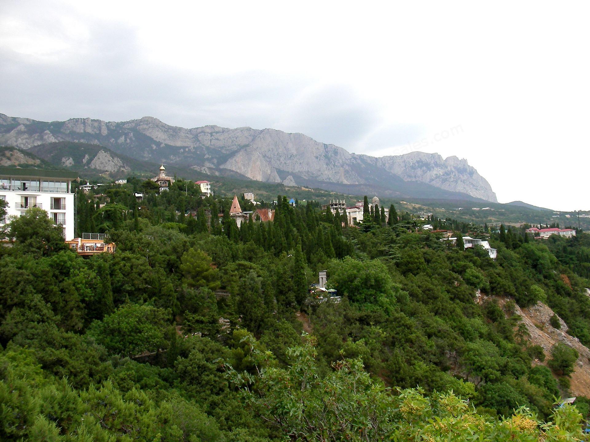 Bjerglandsby i Krim