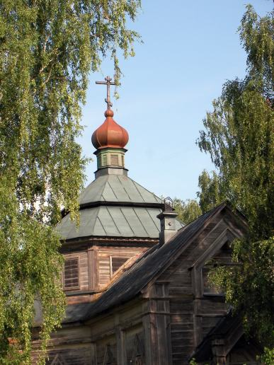 Old russian church
