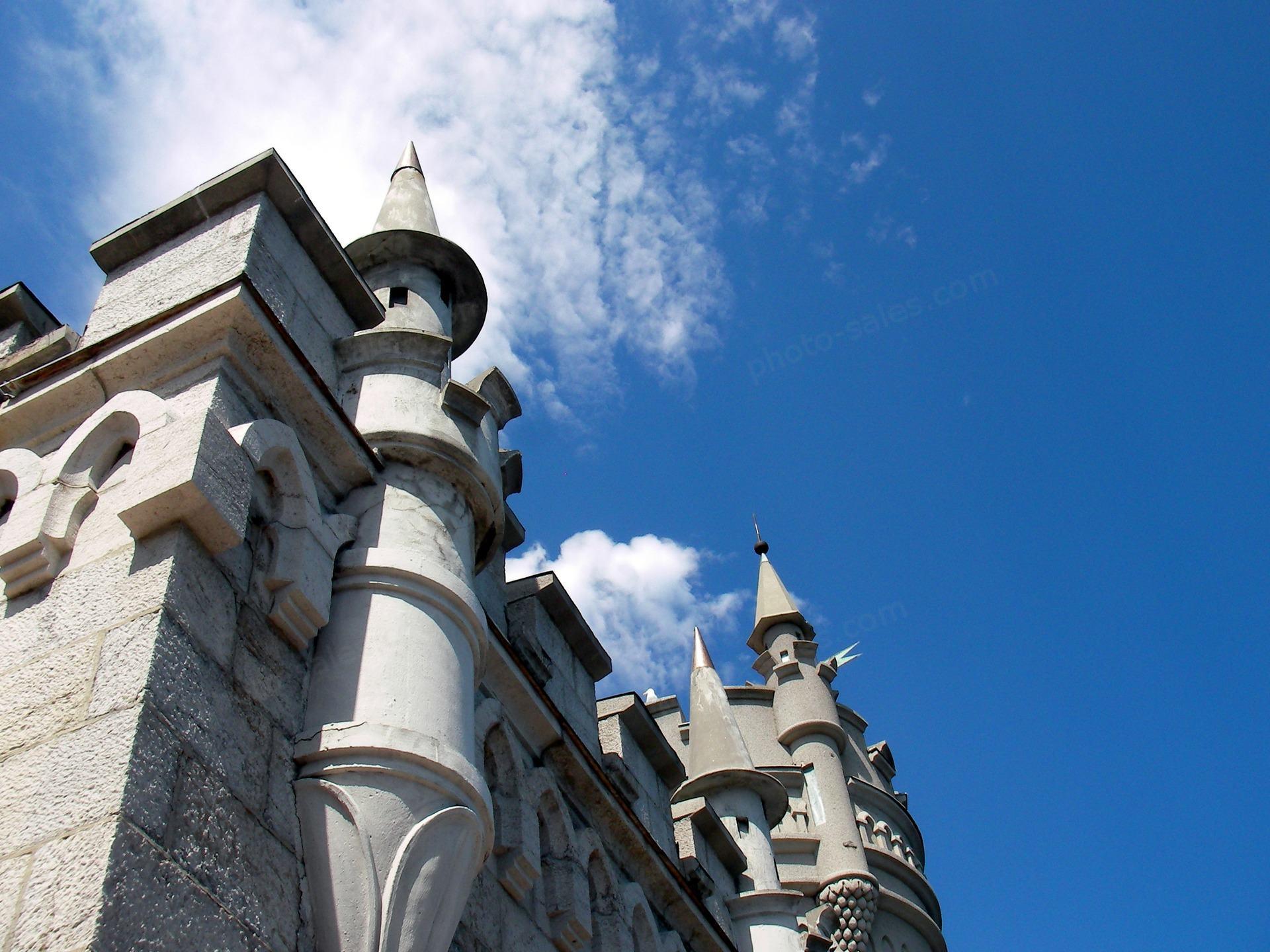 Spiers du château «Nid d'hirondelle»