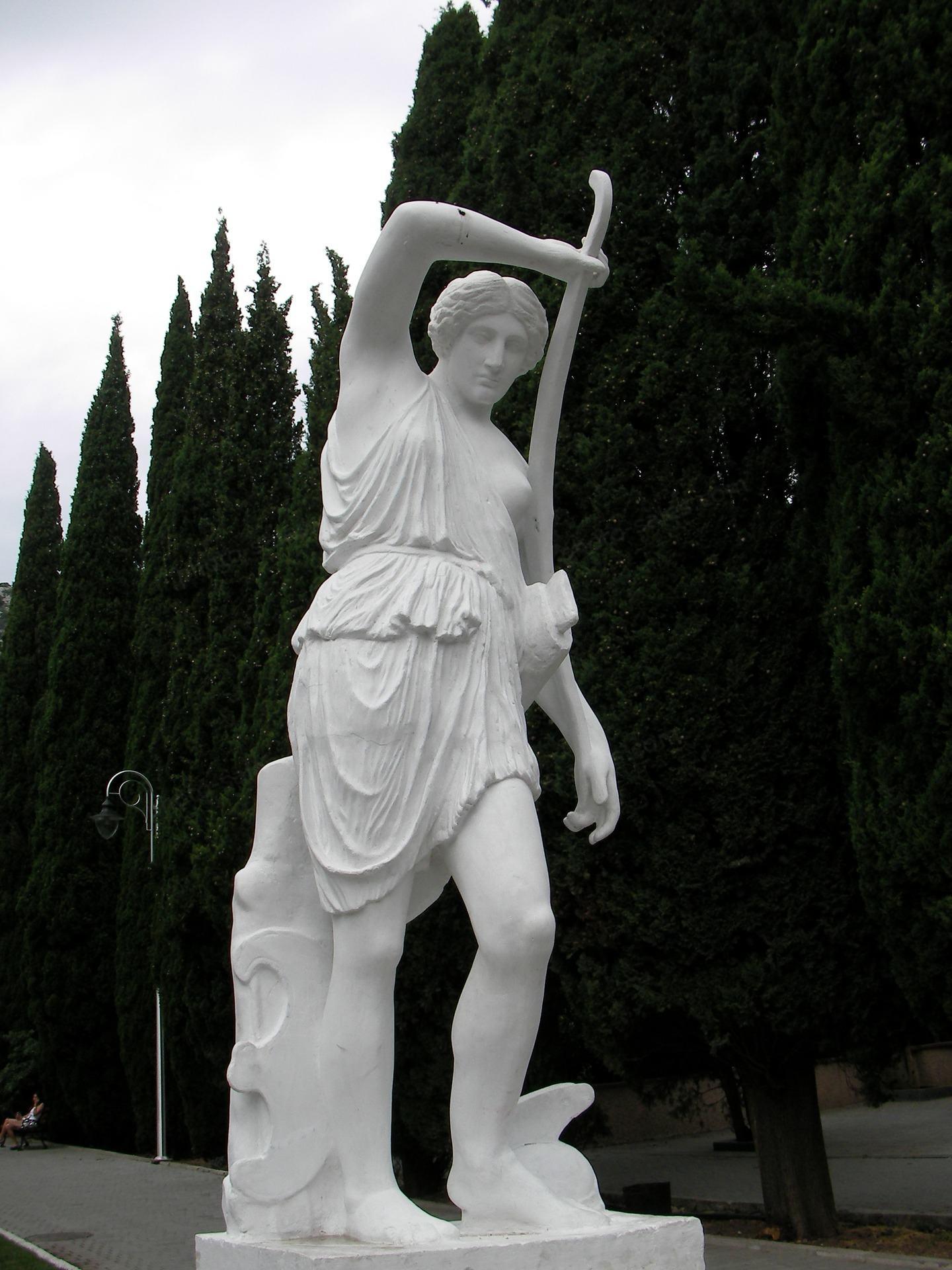 Kip ženske v Simeiz