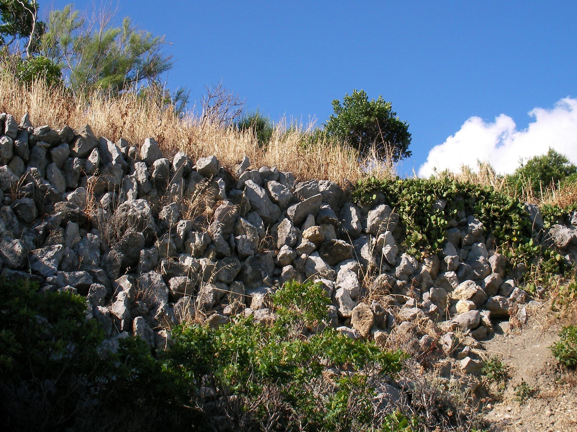 ಕಲ್ಲಿನ ಗೋಡೆ