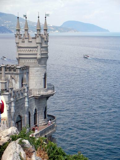 Swallow Sarang – simbol Crimea