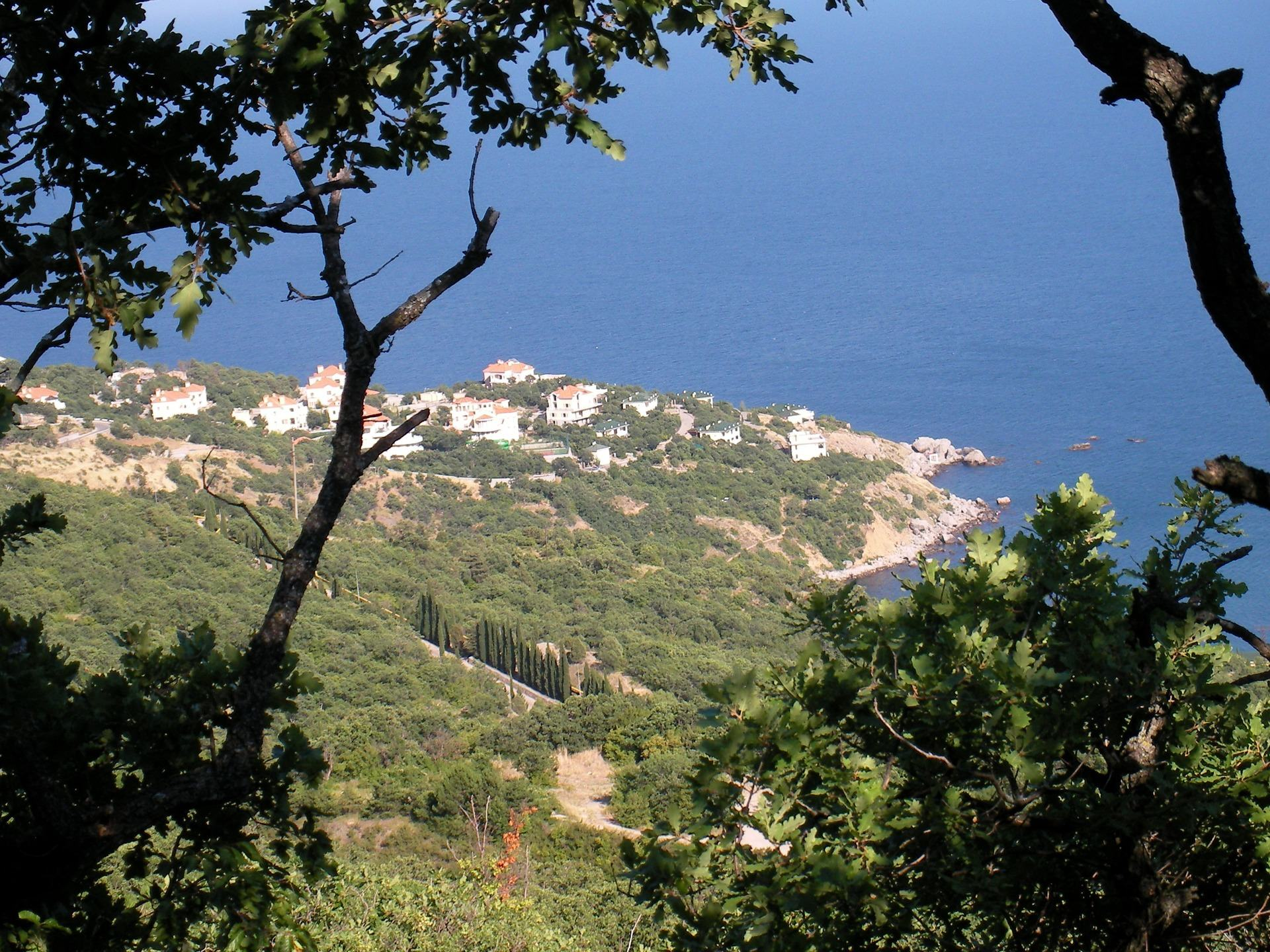 The south coast of Crimea