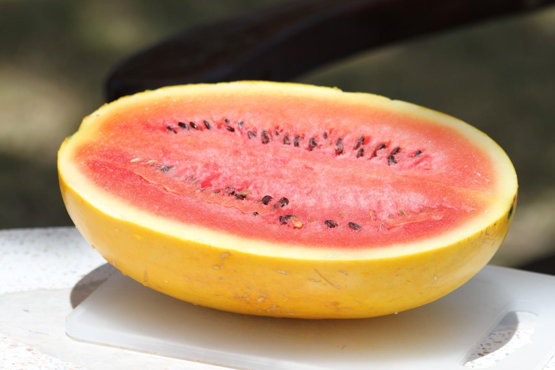 gul vannmelon